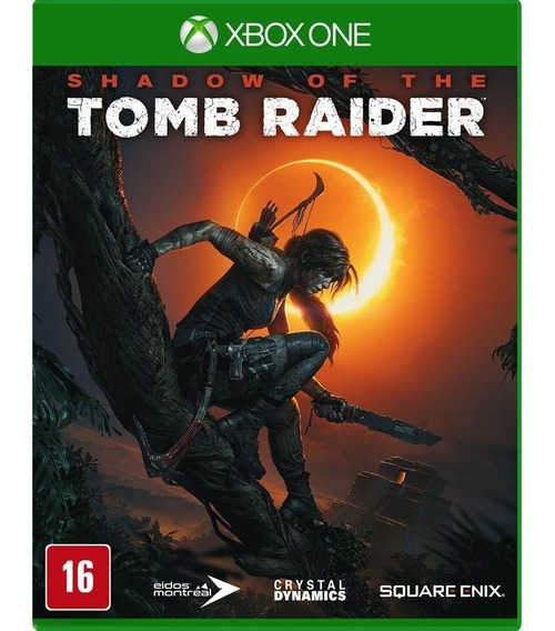 Jogo Xbox One Shadow Of The Tomb Raider Midia Fisica