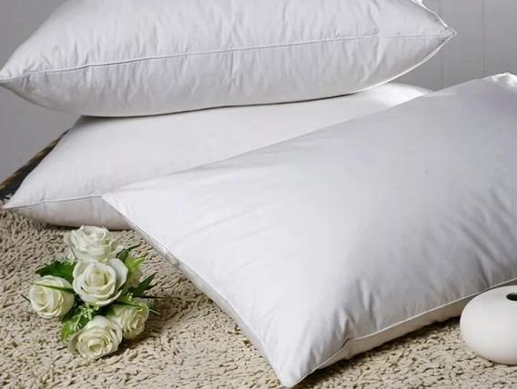 Kit 10 Travesseiros De 100% Fibra De Silicone Antialérgico