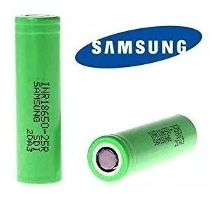 Kit 4 Bateria Samsung 25r 18650 2500mah 35519