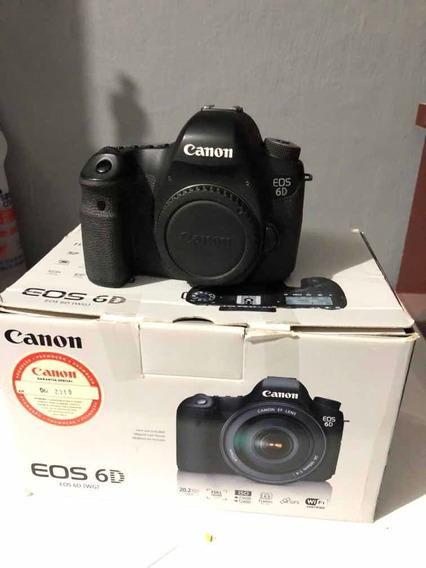 Canon 6d 40k Cliques Conservada