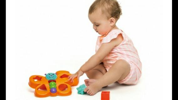 Brinquedo Educativo Didático Borboleta Espoleta Calesita
