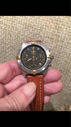 Relogio Breitling Chronomat 80350 Quartz Inox/ouro Unisex