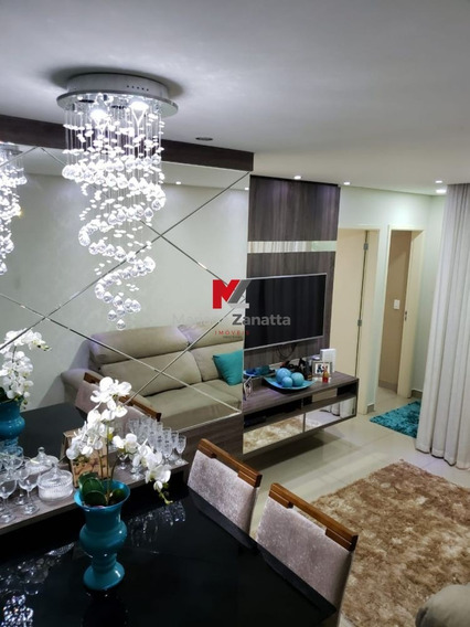Apartamento Residencial Treviso - Apartamento A Venda No Bairro Parque Planalto - Santa Bárbara D