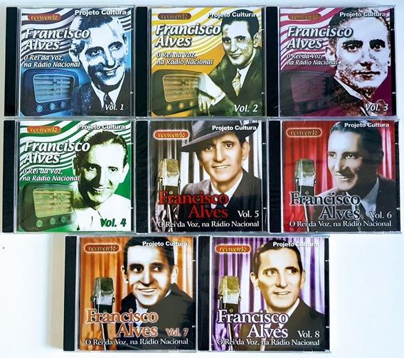 Cds Francisco Alves - Na Radio Nacional - 8 Volumes Lacrados