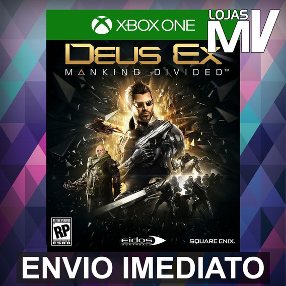 Deus Ex Mankind Divided - Xbox One Código 25 Dígitos