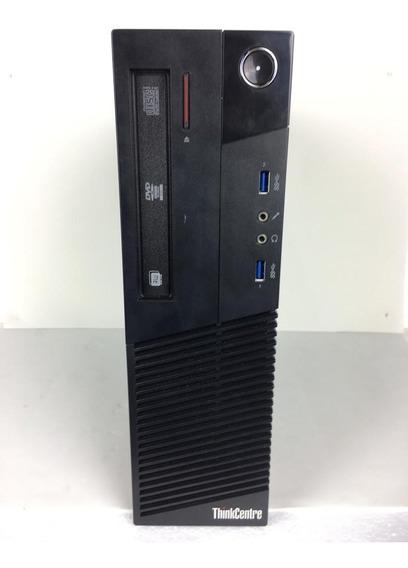 Cpu Desktop Lenovo M93p I5 8gb 500gb - Com Nf E Garantia
