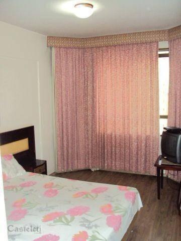 Flat Com 1 Dormitório Para Alugar, 50 M² Por R$ 1.200/mês - Centro - Campinas/sp - Fl0005