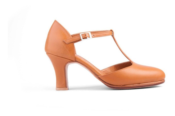 Zapatos De Tango - Folklore Suela Cerrados