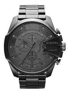 Reloj Para Hombre Diesel Dz4282 Mega Chief Gunmetal