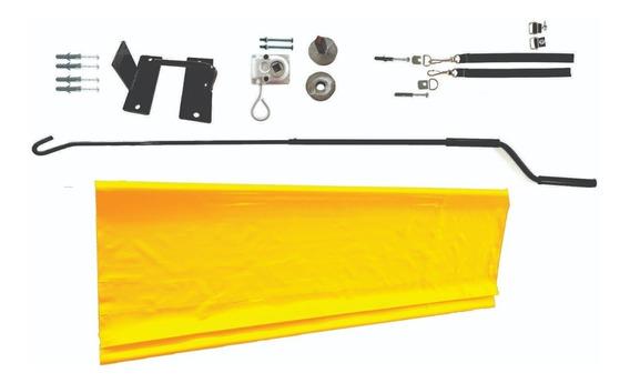Kit Montagem De Toldo Cortina 4,23 X 2,00 Cores Váriadas