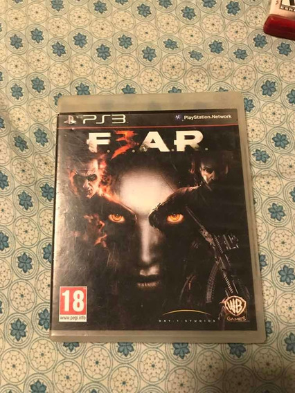 Fear 3 Em Mídia Física Para Ps3