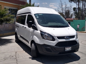 Ford Transit 2.2 Pasajeros Larga Techo Alto Custom Mt 2016