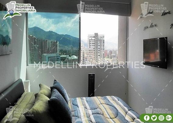 Arrendamientos De Apartamentos Baratos En Medellín Cód: 4324