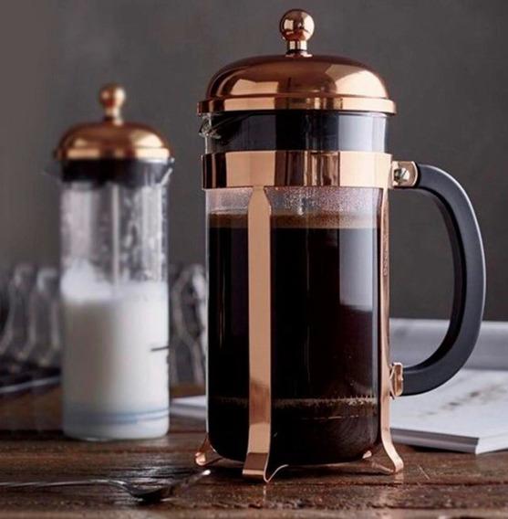 Cafetera Bodum Chambord Cobre 3 Pocillos 1923-18 Q17