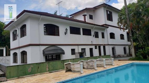 Casa Com 4 Dormitórios Para Alugar, 1300 M² Por R$ 20.000/mês - Horto Florestal - São Paulo/sp - Ca0185