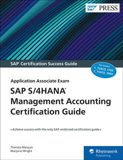 Libro Sap S/4hana Management Accounting Certification Guide