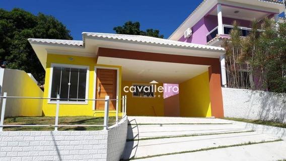 Casa Residencial À Venda, Flamengo, Maricá. - Ca3116