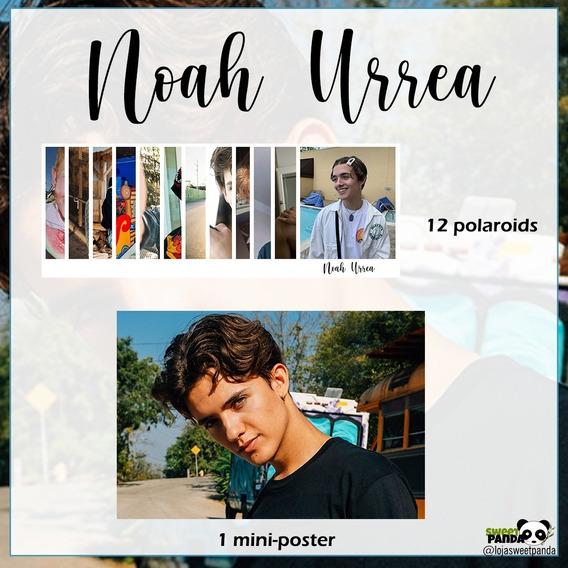 Kit Now United Noah Urrea Com Mini Poster E Polaroid