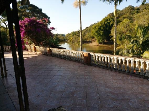 Chácara Ibiúna 8.000 Mts Casa, Lago, Campo E Churrasqueira