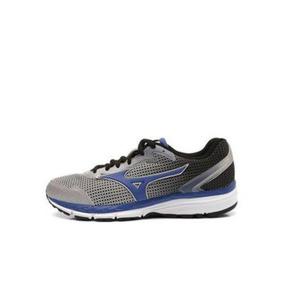 Mizuno Brave 2 N Tênis Masculino Corrida 4140671 Prata-azul