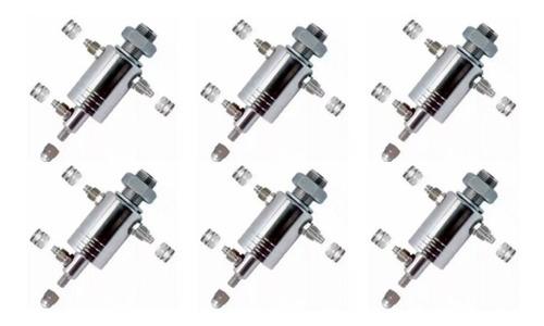 Imagem 1 de 10 de 6 Kit Cinemático Rodoar + 18 Porca Multiuso + 6 Porca Calota