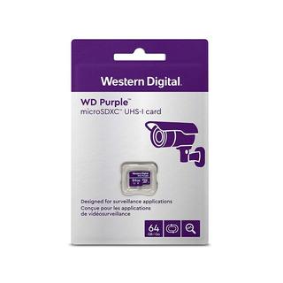Memoria Wd Purple 64gb Micro Sdxc Videovigilancia 24/7
