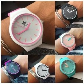 Kit 10 Relógios adidas Feminino Masculino Colors - Revenda!!