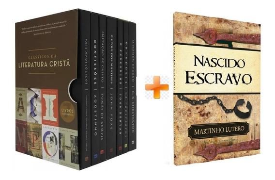 Box Clássicos Da Literatura Cristã - 7 Vol + Nascido Escravo