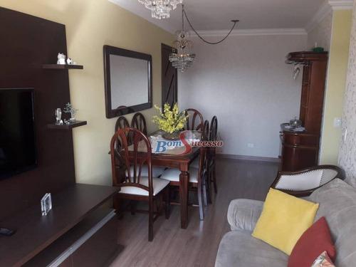 Imagem 1 de 11 de Apartamento Com 2 Dormitórios À Venda, 50 M² Por R$ 350.000,00 - Vila Carrão - São Paulo/sp - Ap2637