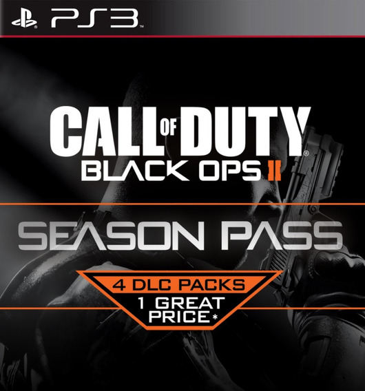 Season Pass 5 Dlcs P/ Call Of Duty Black Ops 2 Cod Bo2 Br - 5 Dlcs - Ps3 Playstation 3