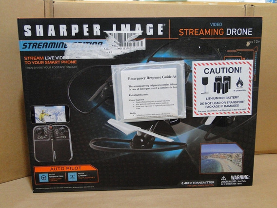 Drone Sharper Image Video Streaming - 2303858 - Usado.