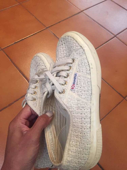 Superga Tenis Bordados