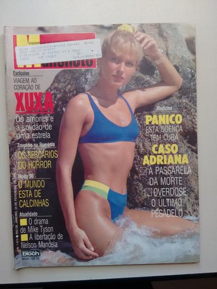 Revista Manchete 1975 Xuxa Paquitas Angelicates Maretes B25