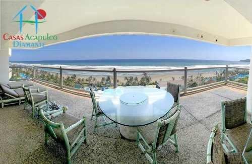 Cad Petén 903 Y 904 De Playa, Terraza Con Vista Al Mar
