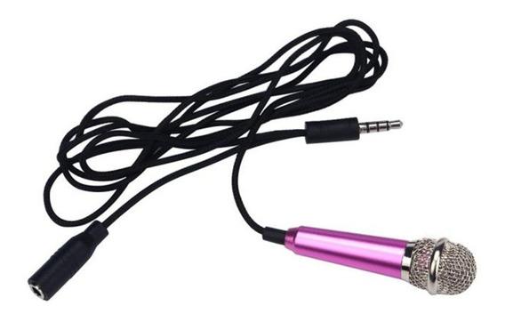 Mini Microfone Estéreo Celular Cameras Gravador Pc Notebook