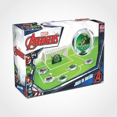 Jogo De Botão Avengers Vingadores Lider - 2400