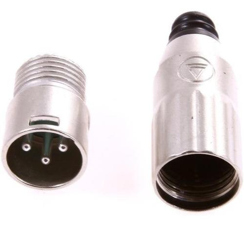 Imagen 1 de 5 de Ficha Canon Xlr Macho Switchcraft Aaa3mz