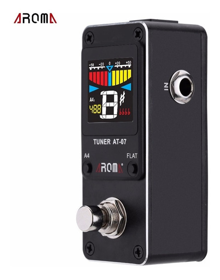 Pedal Afinador Aroma Tomsline At-07 Chromatic Tuner