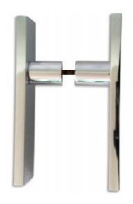 Manijon Para Puerta Fijo Recto Doble 9,5x32x200 Mm