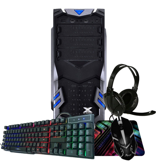 Cpu Gamer Intel 8gb Promoção - 500gb/ Geforce Gt + Kit Gamer
