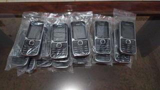 Lote Com 05 Celulares Nokia 3g C2-01 Novos-vitrine Sem Caixa