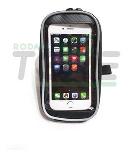 Bolso Delantero Porta Celular/gps Tactil Bicicleta Manubrio
