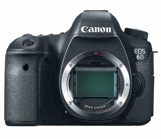 Câmera Profissional Canon Dslr Eos 6d Somente Corpo