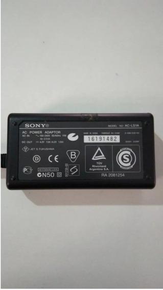 Carregador Para Câmera Sony Modelo Ac-ls1a ( 4,2vots 1,5 Amp