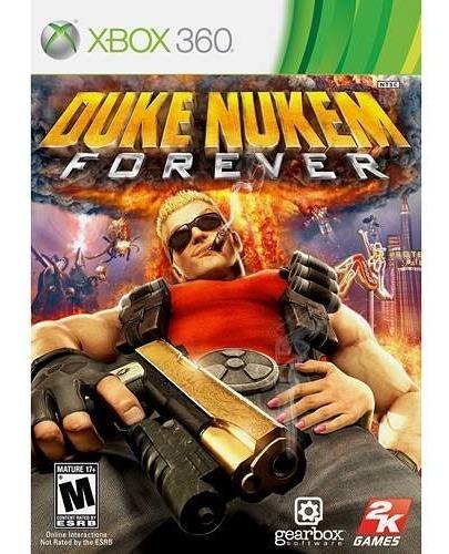 Jogo Duke Nukem Forever - Xbox 360 Mídia Física Usado