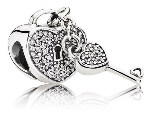 Dije O Charm Pandora Lock Of Love Original