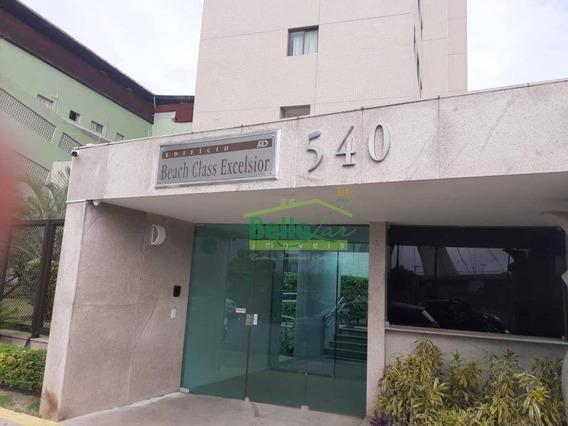 Flat Com 1 Dormitório Para Alugar, 33 M² Por R$ 2.000,00/mês - Pina - Recife/pe - Fl0344