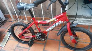 Bicicleta Rodado 16 Vairo-vulcan Niños