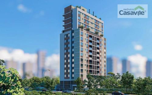 Imagem 1 de 17 de Apartamento Com 3 Dormitórios À Venda, 130 M² Por R$ 1.317.909,42 - Cabral - Curitiba/pr - Ap0536