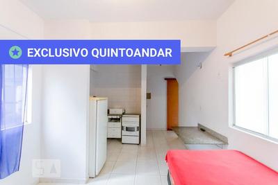 Studio No 1º Andar Com 1 Dormitório E 1 Garagem - Id: 892907958 - 207958